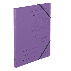 Herlitz Ringhefter easyorga A4 Karton 2-Ring-Mechanik violett