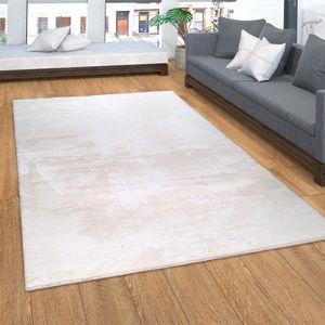 Teppich, Kurzflor-Teppich Für Wohnzimmer, Soft, Weich, Waschbar, In Beige, Grösse:160x220 cm