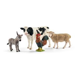 Schleich - Tierfiguren, Farm World Starter-Set; 42385