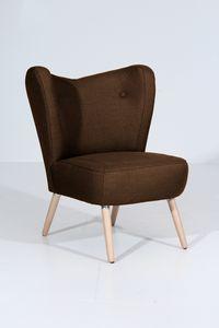 Max Winzer Sari Sessel - Farbe: schoko - Maße: 70 cm x 69 cm x 86 cm; 30151-1100-1645292-F01