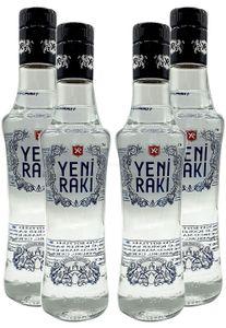 Yeni Raki - 4er Set Türkische Spirituose 0,35L (45% Vol)