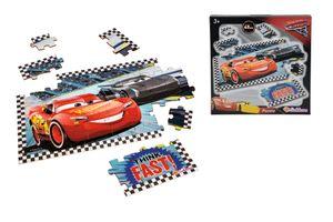 Eichhorn Cars 3 Formpuzzle, 45 Teile, 38 x 20 cm, 100003292