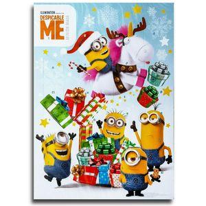 Minions Motiv A Schokoladen Adventskalender Vollmilch Schoko Weihnachts Kalender