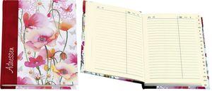 """Adressbuch """"Mohnwiese"""" - A6, 20-tlg. Register"""