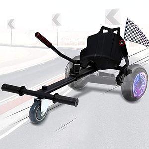 """karpal Hoverboard Sitz, Hoverboard Kart Aufsatz, Selbstausgleichender Roller Kompatibel von 6,5""""bis 10"""" Groessenverstellbar fuer Kinder und Erwachsene¡"""