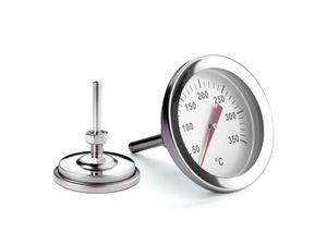 Weis 15300 Edelstahl Grillthermometer 55mm 50 bis 350 Grad