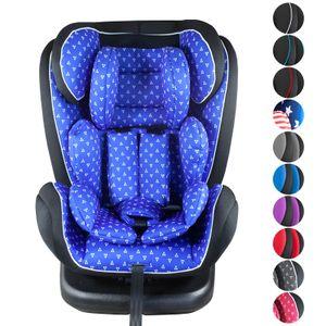 XOMAX XM-KI360 Auto Kindersitz mit 360° Drehfunktion und ISOFIX für Kinder von 0 - 36 kg (Klasse 0, I, II, III), Farbe:p-blue