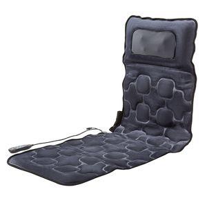 Crenex Massagematte Massagesitzauflage Vibrationsmassagematt Massageapparat tragbar Auflage Wärmefunktion