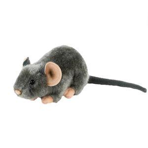 Maus Kuscheltier grau 30 cm Plüschtier  Teddys Rothenburg