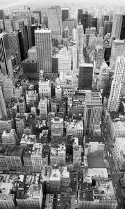 "Komar Vlies Fototapete ""Uptown"", grau/weiß, 150 x 250 cm"