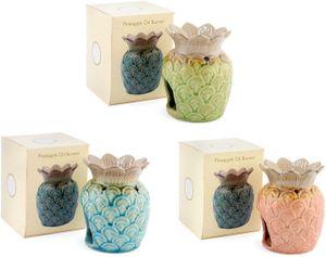 "Hübsche Keramik Duftlampe ""Ananas"" - farblich sortiert - Preis pro Stück!"