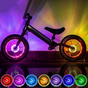 Fahrrad-Radlichter Wasserdichte 7-LED-Radnabenlichter Fahrrad-Speichenlichter
