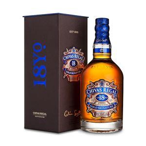 Chivas Regal 18 Jahre Blended Scotch Whisky in Geschenkpackung | 40 % vol | 0,7 l