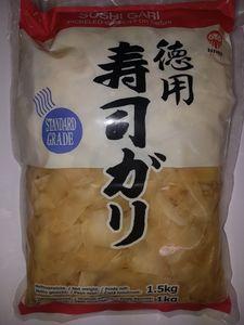 1000g Sushi Gari eingelegter Ingwer Amazu-Gari, Amazu-Shoga 1KG für Sushi, japanische Lebensmittel