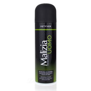 Malizia Uomo Vetyver Rasierschaum mit Aloe Vera 300 ml