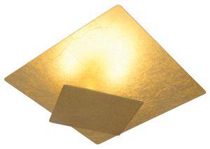 Näve LED Design Deckenleuchte  - Metall - gold; 1253558