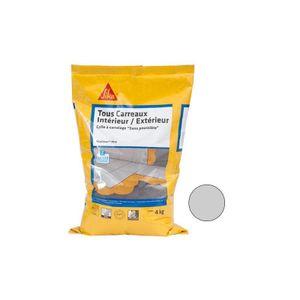 Fliesenkleber für alle Innen- und Außenfliesen (C2-ET) - SIKA SikaCeram Xtra - Grau - 4kg