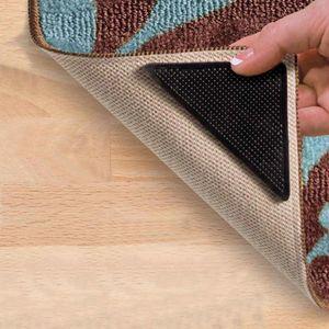 SOLDELA Anti-Rutsch-Ecken für Teppiche, 4-teiliges Set, wiederverwendbar