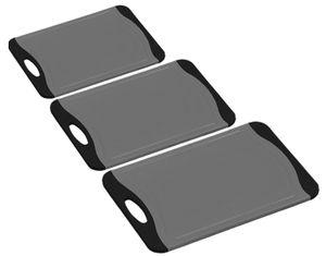 Kesper 992222 Tranchierbrett antibakteriell 29 x 20 cm grau/schwarz