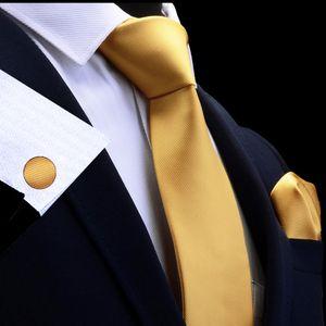 Silk fester Men s Krawatte im Set Krawatten Einstecktuch Manschettenknöpfe Sets für Männer Hochzeit Geschenk -(11,)