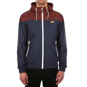 Iriedaily Herren Jacke Insulaner Jacket , Größe:S, Farben:dark rum