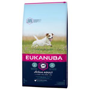 15 kg Eukanuba Active Adult Small Breed Huhn