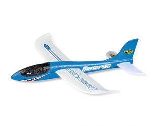 Carson Wurfgleiter Airshot 490 blau Wurfsegler Flugzeug aus Styropor sehr Stabil