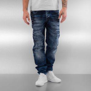 Cipo & Baxx Männer Straight Fit Jeans Halti in blau Cipo & Baxx