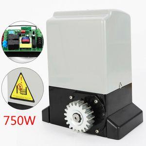 750W Elektrischer Schiebetorantrieb Toröffner 2000KG Antrieb Garagentor Sliding Gate Opener Schiebetor Hoftor+2 Handsender