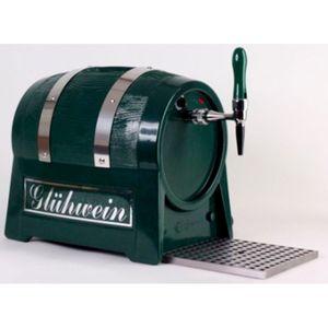 Getränke-Durchlauferhitzer, 3kW, Fassform, 1-leitig, mit integriertem Luftkompressor