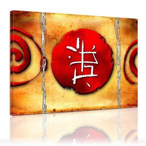 Leinwandbild - Chinesische Kunst , Größe:60 x 50 cm