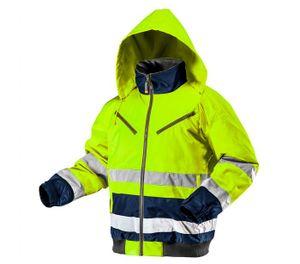 NEO Arbeitsjacke Winterjacke Warnschutz Schutzkleidung Reflektionsstreifen SOFTSHELL M/50