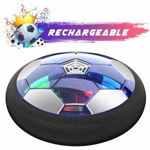 Air Power Fußball - USB-Aufladung Hover Ball Indoor Football Kinderspielzeug mit Bunte LED-Leuchten