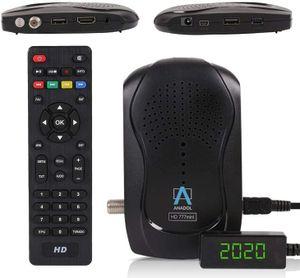 CYE HD 777 mit PVR Aufnahmefunktion Timeshift - 1080p HDTV digitaler Mini Sat Receiver - energiesparender Full HD Minireceiver - Minisatreceiver mit vorinstallierten Astra Sendern - 12V Camping