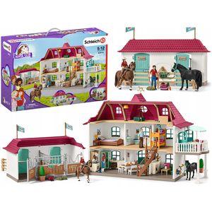 Schleich Großer Pferdehof mit Wohnhaus und Stall; 42416