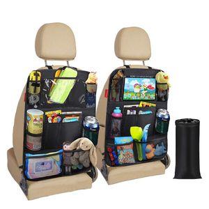 Auto-Rückenlehnenschutz  zweiteiliger wasserdichter Auto-Rücksitz-Organizer für Kinder  Rücksitzschutz