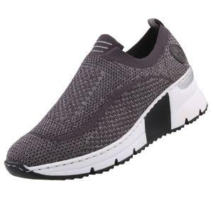 Rieker Damen Slipper Grau, Schuhgröße:EUR 39