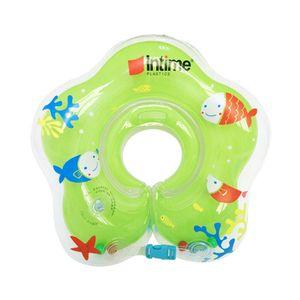 Duolm Baby Schwimmring für den Hals Babyschwimmring Schwimmkragen Badehilfe Kinder—
