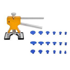 Auto-Dellen-Reparatur-Werkzeug kein Blech Sprühfarbe Delle Reparatur Sauger (Gold)