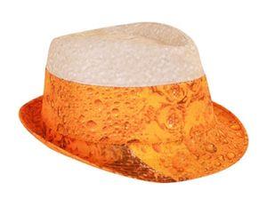 Trilby Hut mit Bier Druck