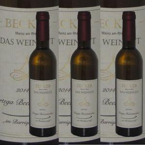 Weißwein Rheinhessen Weingut Becker Ortega    Beerenauslese Barrique edelsüß (3 x 0,375)