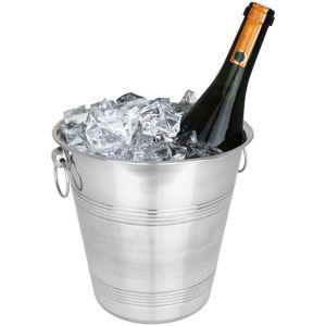 Sektkühler Edelstahl Wein Champagner Sekt Kühler Weinkühler Eiskübel Flaschenkühler Champagnerkühler