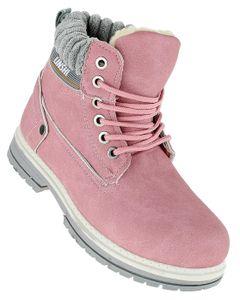 Art 355 Winterstiefel Stiefel Winterschuhe Damenstiefel Damen, Schuhgröße:37