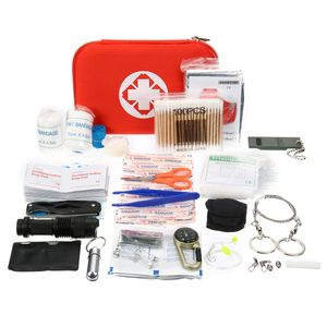 241Pcs/Set SOS Survival Kit Emergency Survival Überleben Survival Notfallset