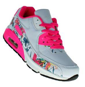 Art 925 Neon LUFTPOLSTER  Turnschuhe Schuhe Sneaker Sportschuhe Damen, Schuhgröße:39