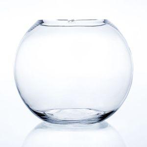 Kugelvase, Glaskugel GLOBE H. 29,5cm D. 35cm Glas transparent Sandra Rich