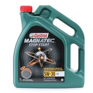 5 Liter CASTROL 5W-30 Magnatec Stop-Start C2 ACEA C2 API SN PSA B71 2290 Fiat 9.55535-S1