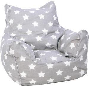 """Kindersitzsack - """"Stars white"""""""