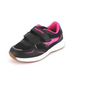 KangaRoos Sneaker Roji II V Größe 27, Farbe: jet black daisy pink