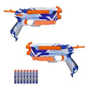 Hasbro C3135 Nerf N-Strike Elite Splitstrike Battlecamo Serie Gewehr Darts Neu